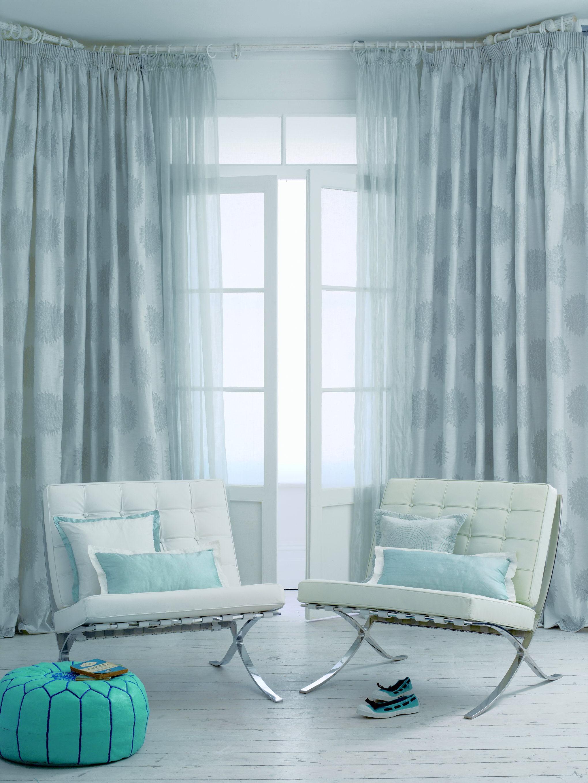 Royal Blue Chenille Living Room Chair