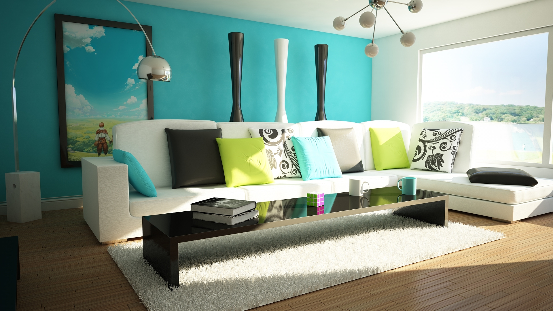 Living room decor - 36 different ways to decorate a living room in ... - ^
