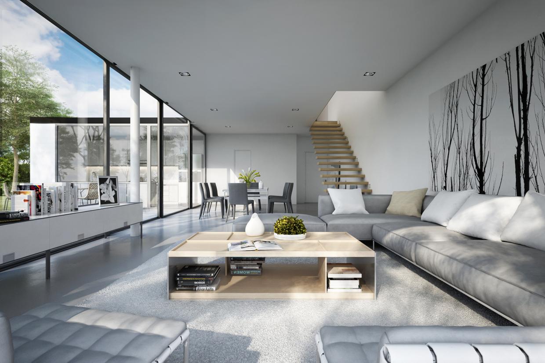 American modern living room - American Living Room Idea