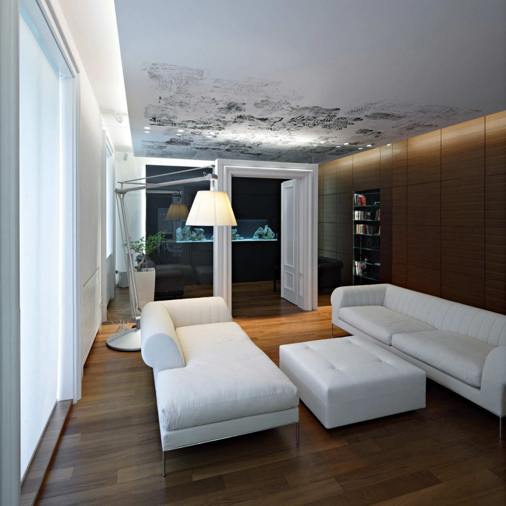 Living room for apartments