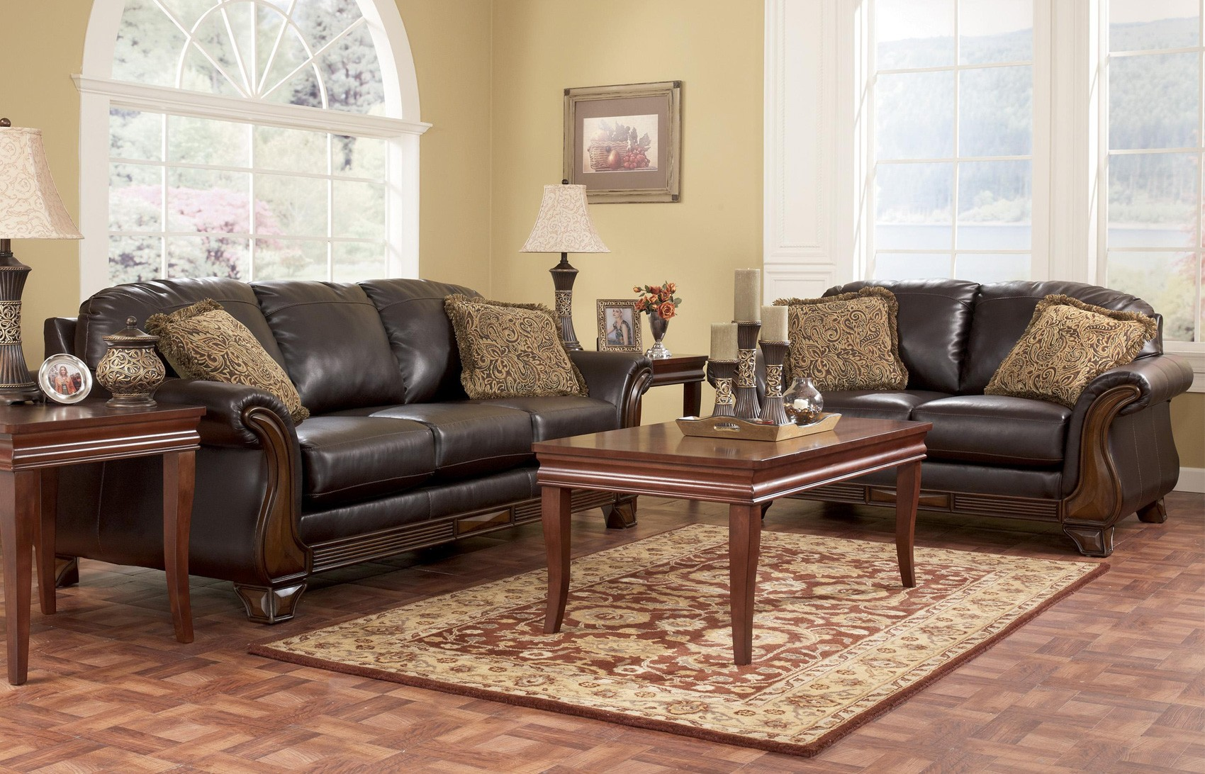 Ashley furniture living room set for 999 modern house for Furniture living room set