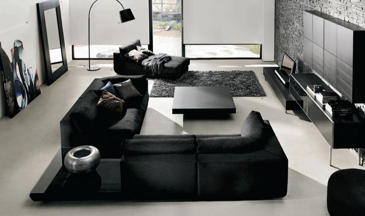 astounding black white living room ideas | 52 ideas of black and white living rooms | Hawk Haven