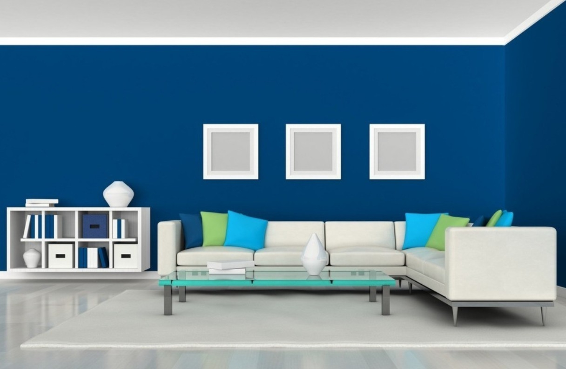 Rooms Painted Blue Blue Living Room  35 Shades Of Blue  Hawk Haven