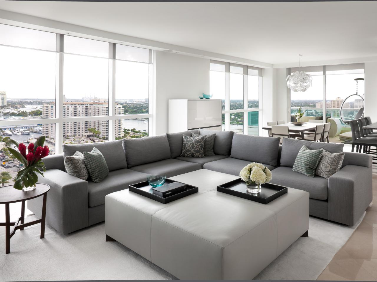 Contemporary living room - 20 characteristics of modern-day style of ...