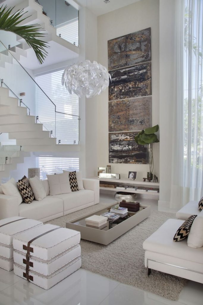 Contemporary living room – 20 characteristics of modern-day style of your living room furniture
