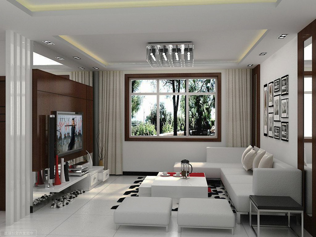 contemporary living room - 20 characteristics of modern-day style