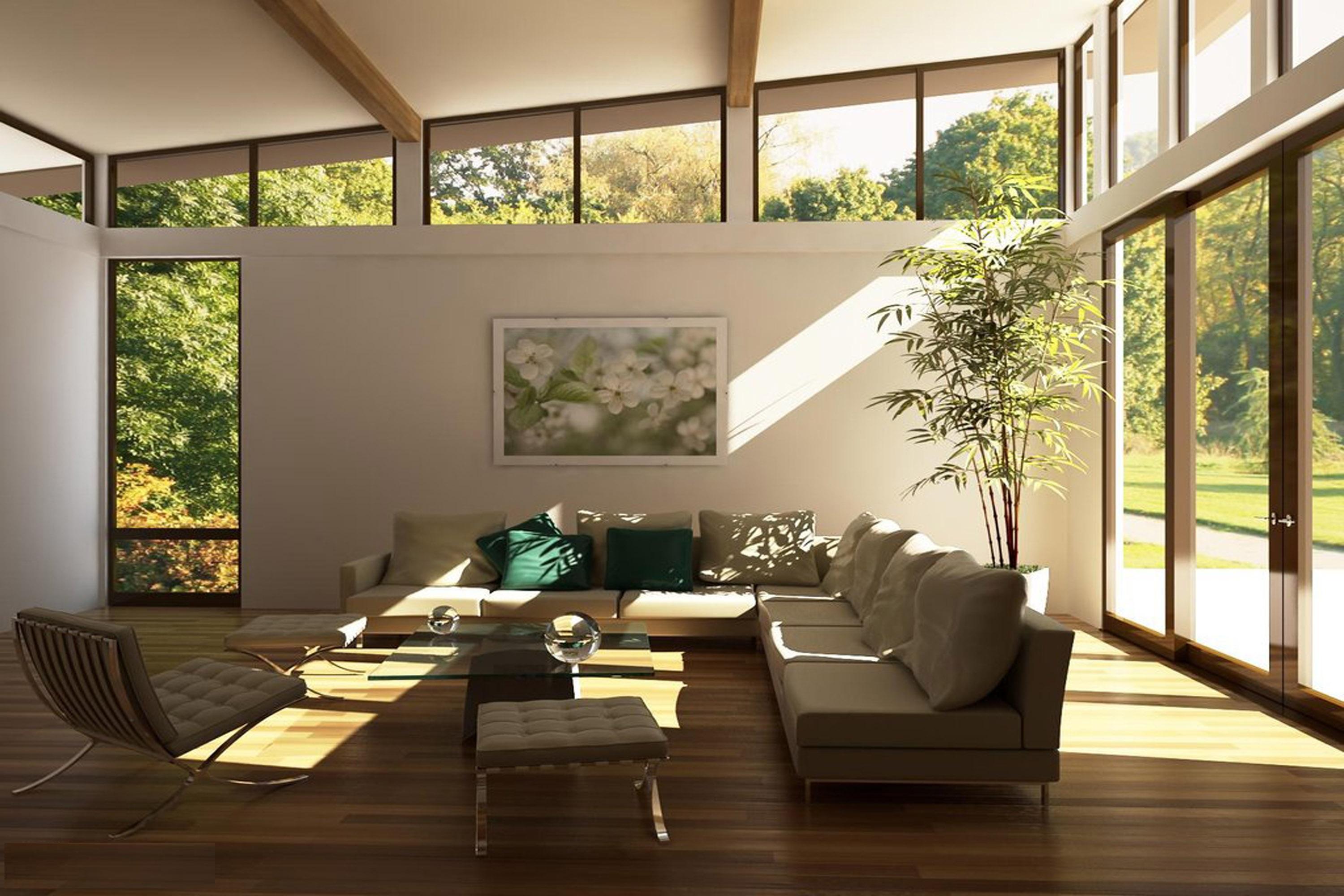 Contemporary style furniture characteristics - Mixing And Matching Are Frequently A Characteristic Of Modern Day Style Living Room Furniture