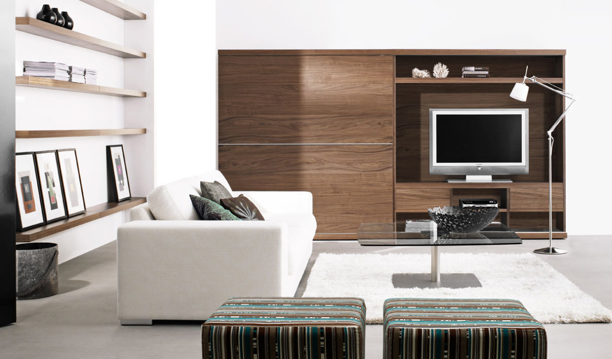Contemporary Living Room U2013 20 Characteristics Of Modern Day Style Of Your Living  Room Furniture