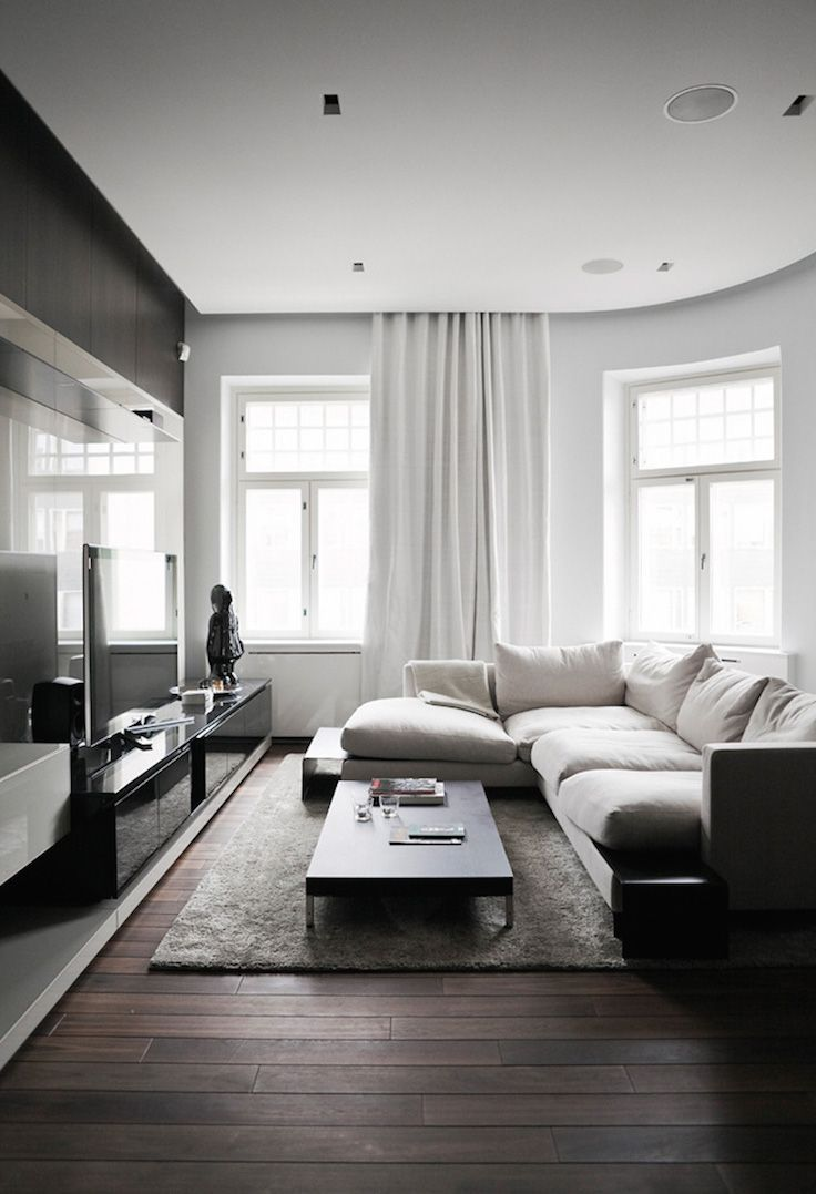 70 Living room design ideas to create an appealing atmosphere   Hawk ...