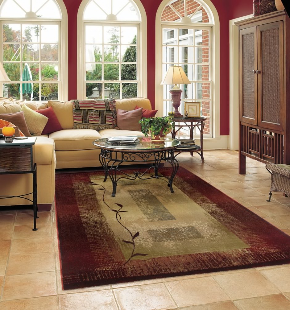 Living Room Rug - 18 Rules For Right Choosing