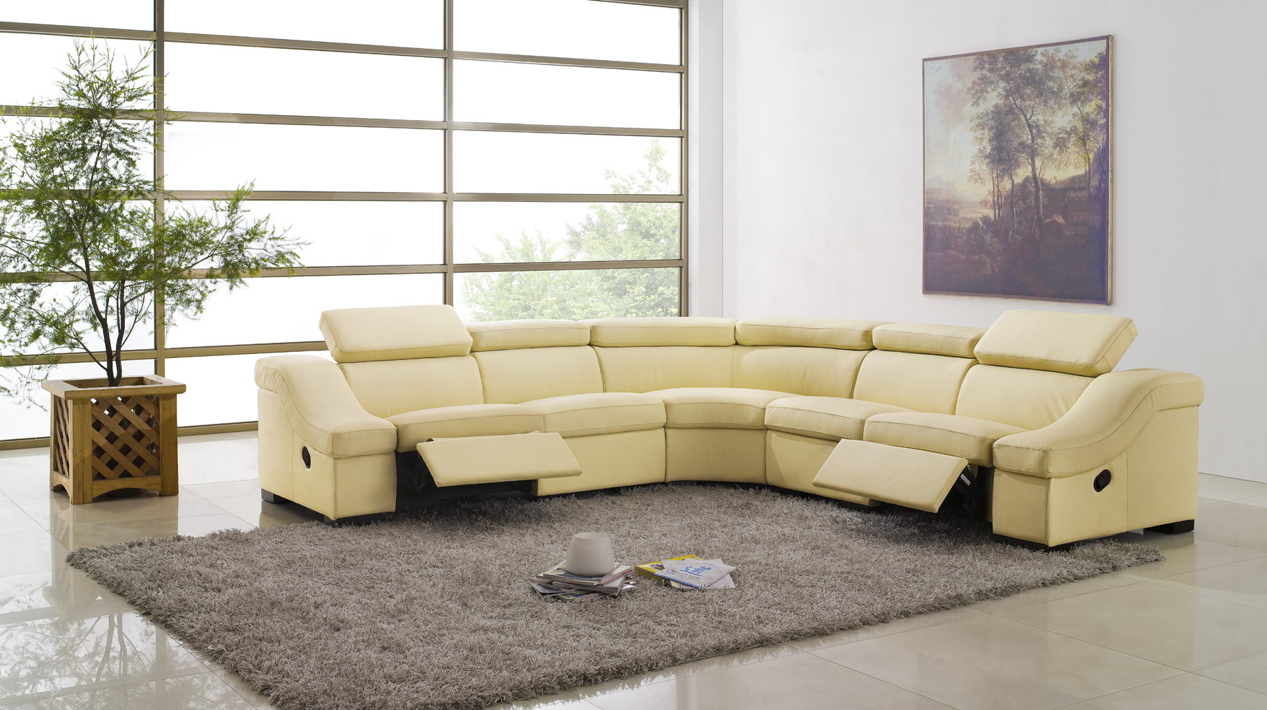 Living Room Sectionals   22 Modern And Stylish Sectional Sofas For Your  Living Rooms | Hawk Haven