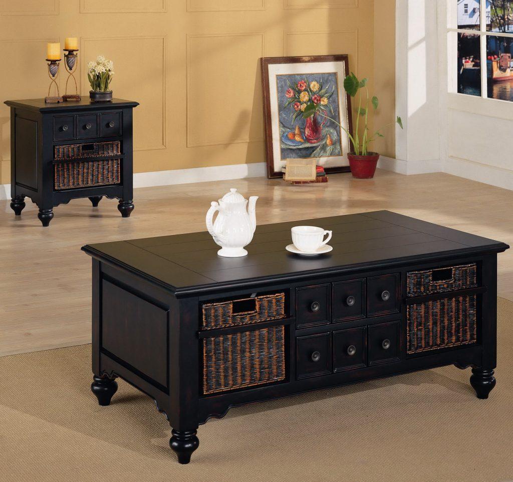 Living room tables – 35 tips for choosing