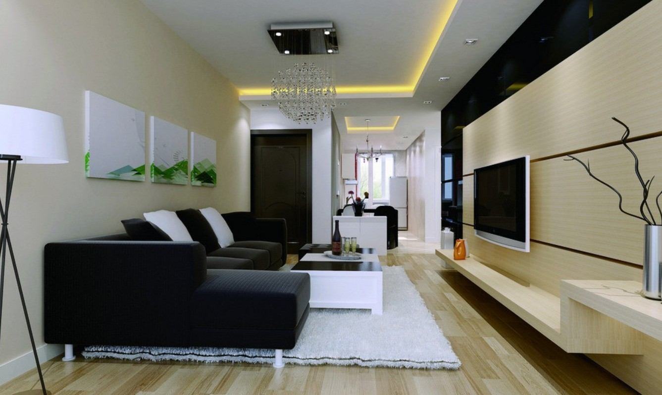 Make Your Living Room Presentable From These Ideas Of Wall
