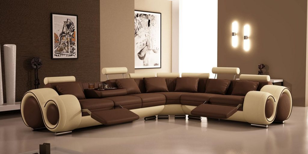 20 things to keep in mind when opting for brown living room