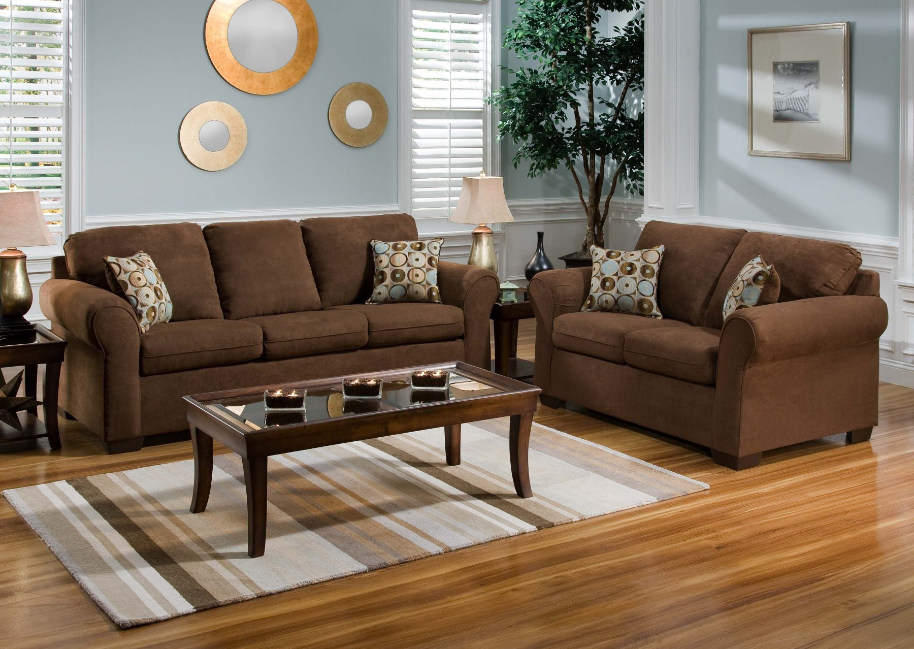 20 Things To Keep In Mind When Opting For Brown Living Room | Hawk Haven
