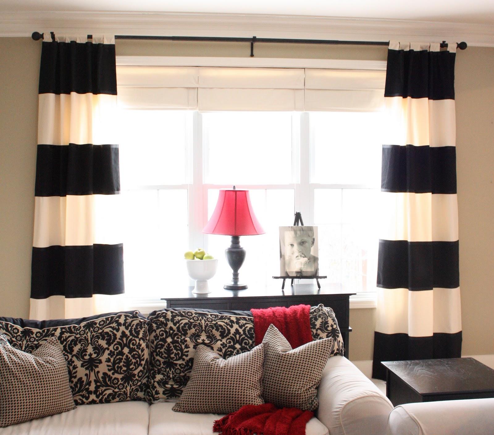 Drapes for living room - 35 methods to make your room seem bigger ...