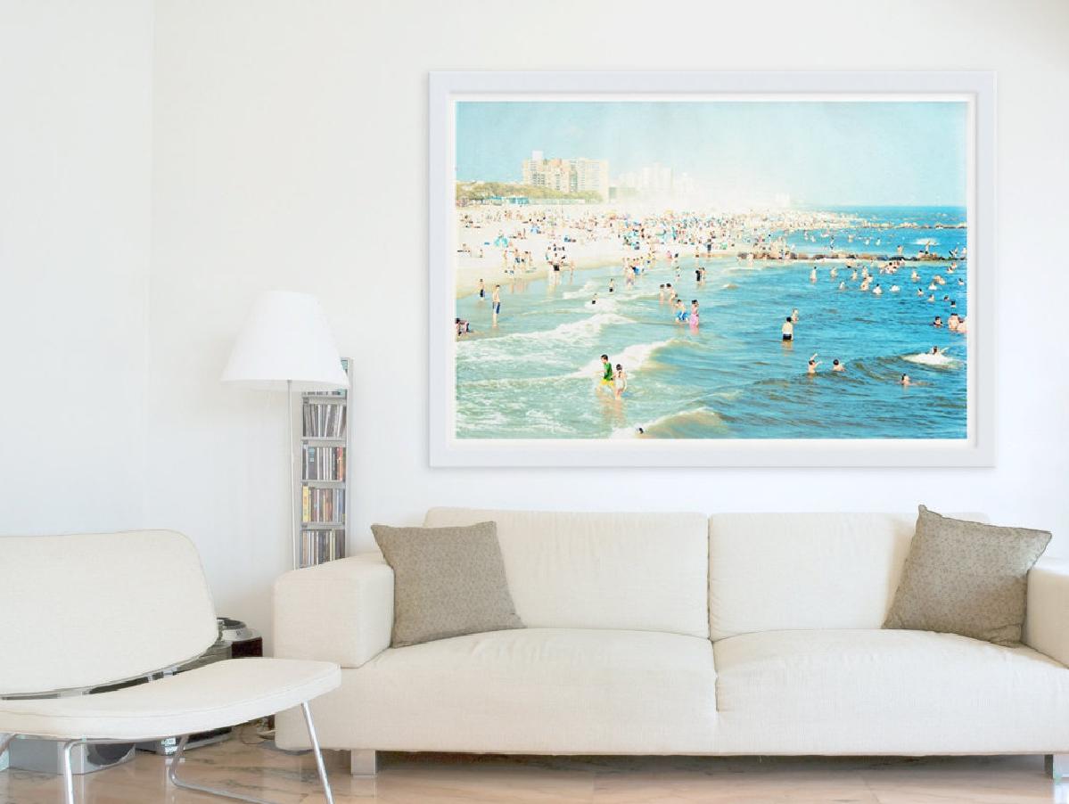 Living room art - 20 methods to make a bare room pop - Hawk Haven