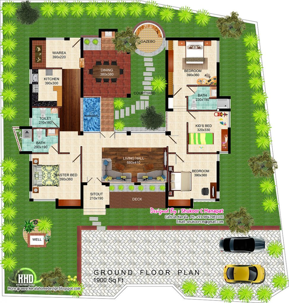 Eco-Friendly House Designs Floor Plans