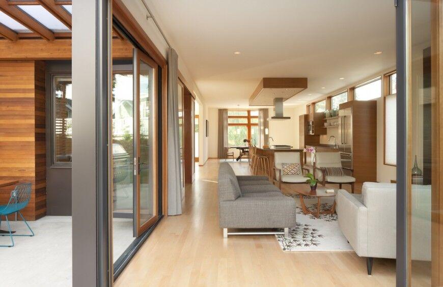 Kitchen with Sunlight Interior Concept
