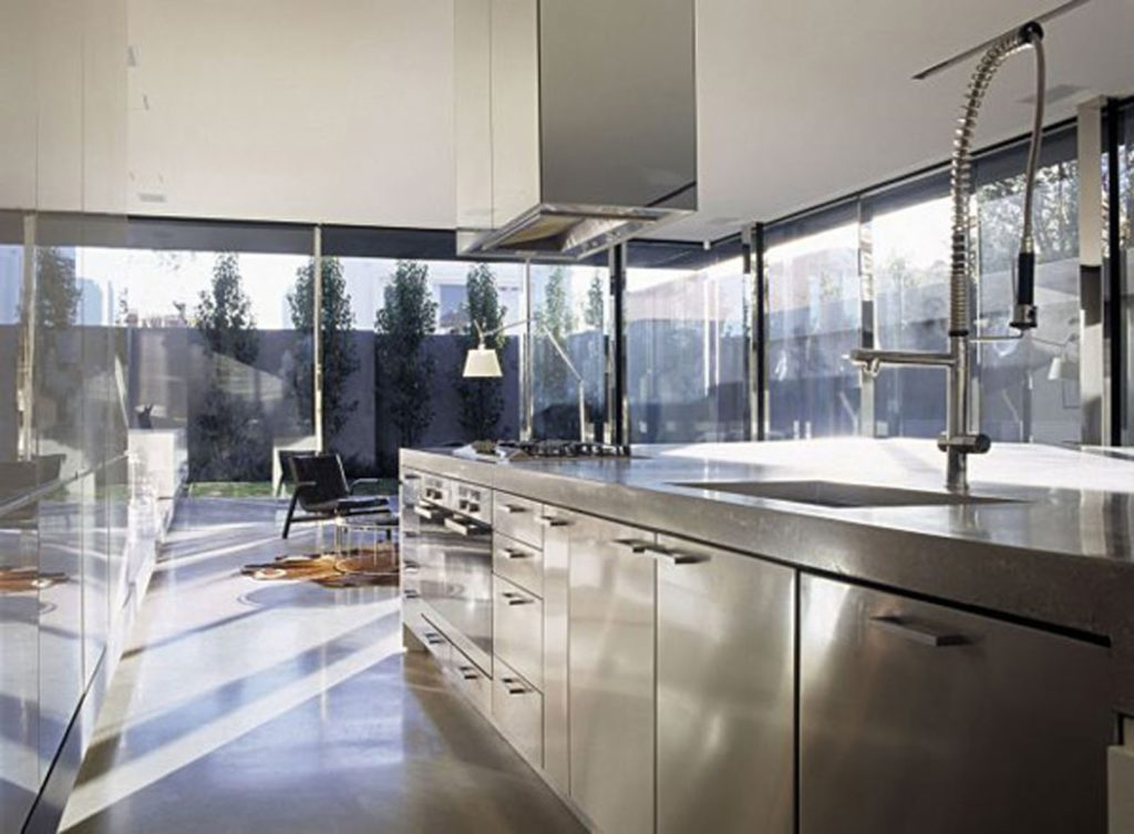 Steel Kitchen Interior