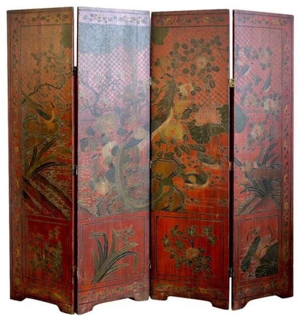 The uses of antique chinese screens room dividers