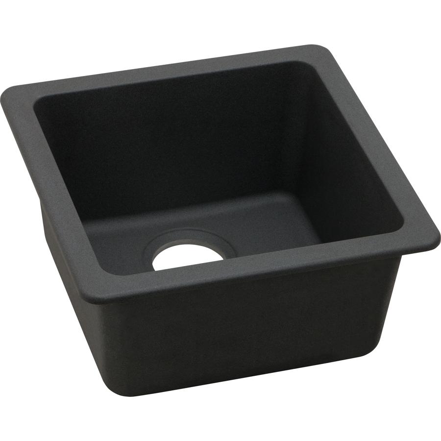 Black granite bar sink