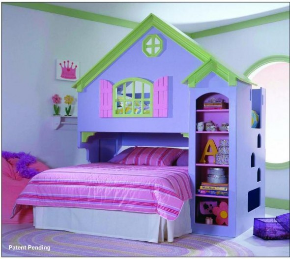 Bunk Beds for Cute Girls