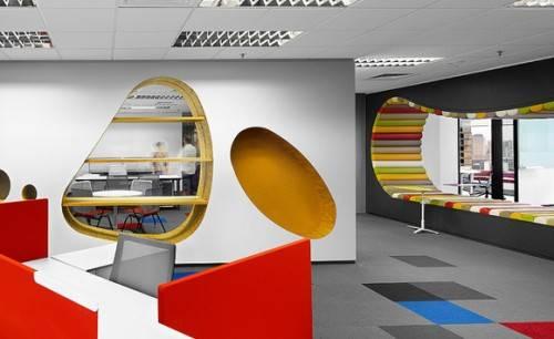 Executive office wall decor