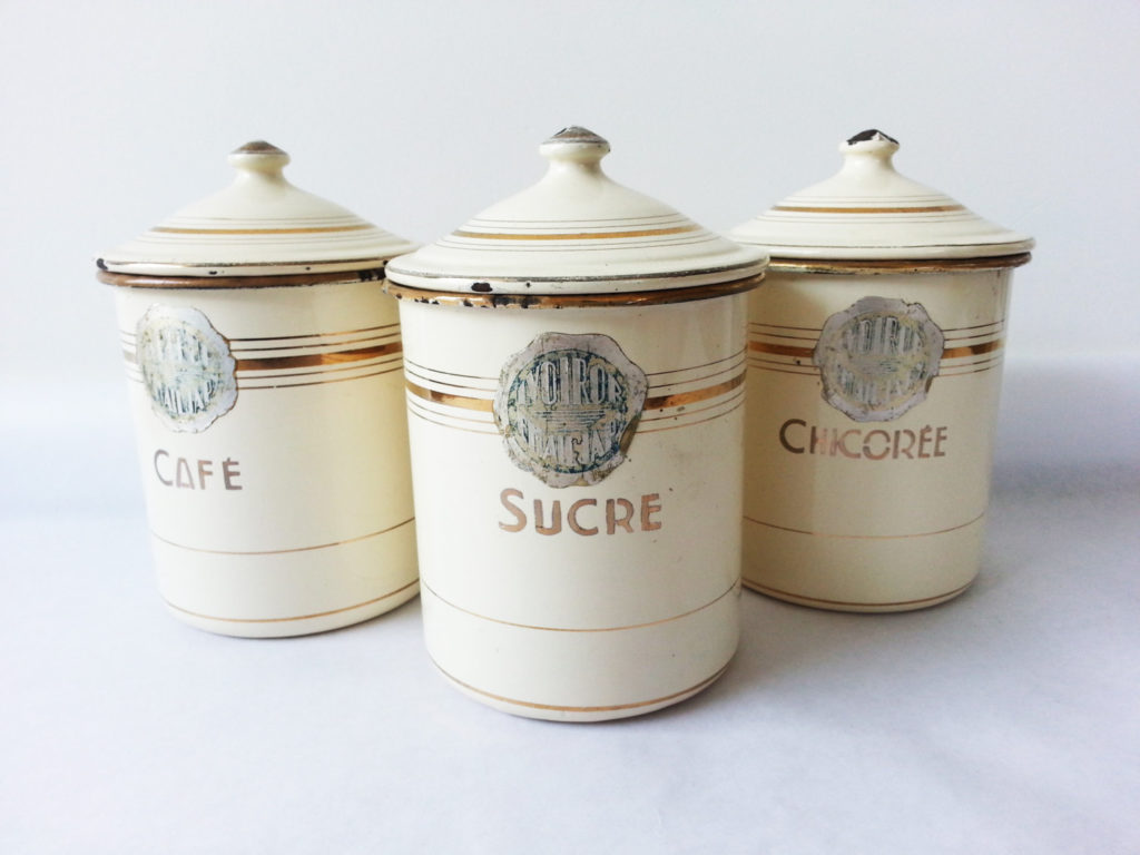 French country kitchen canisters