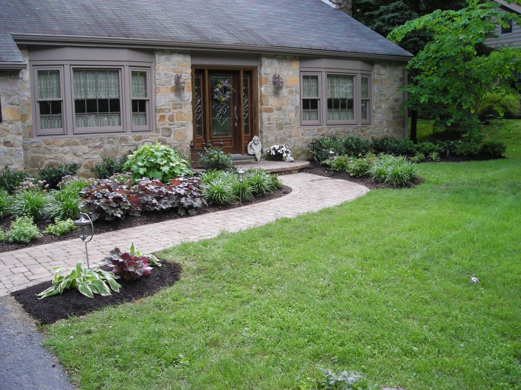 Front garden entrance ideas