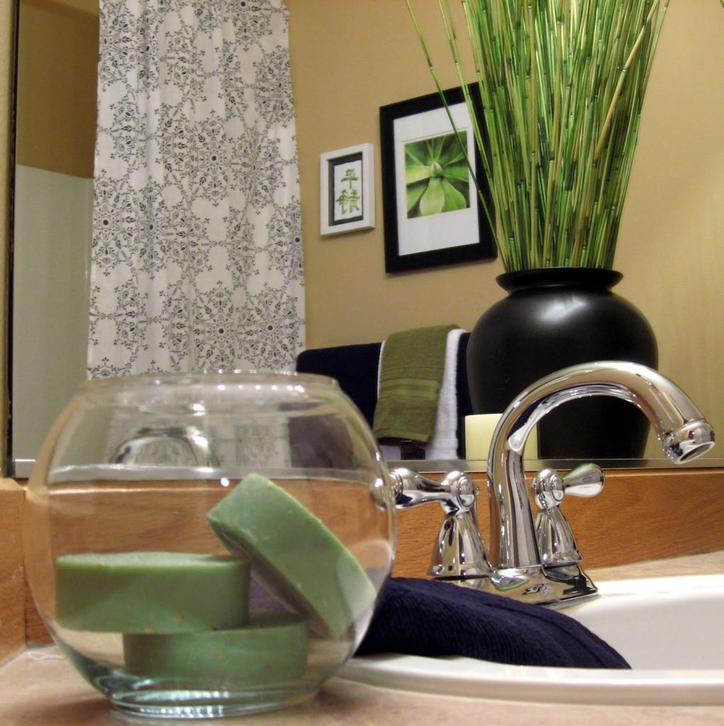 Home bathroom spa accessories