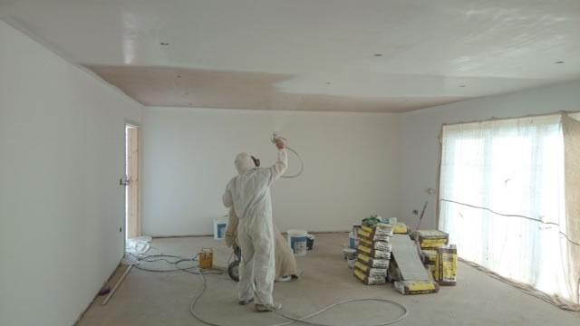 Interior home paint gun