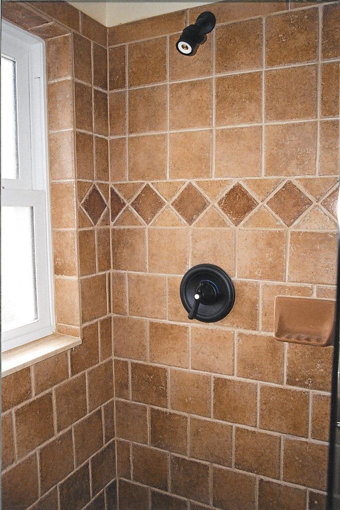 Italian bathroom tile design