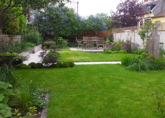 Large family garden design