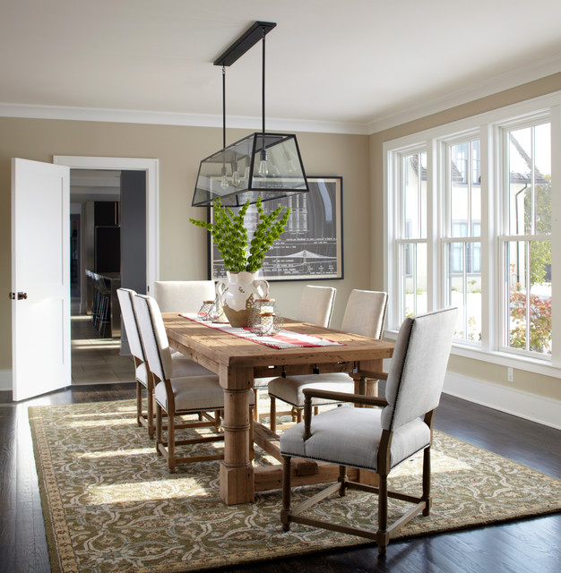Modern Classic Dining Room Hawk Haven