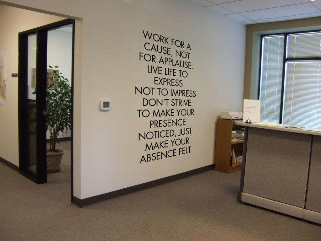 Office decor wall art