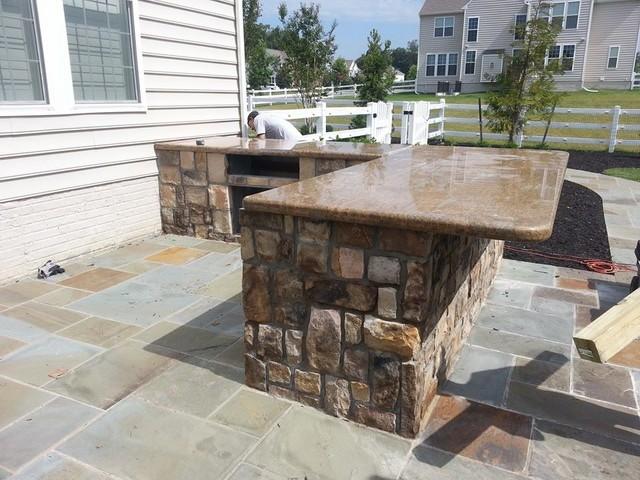 Outdoor Kitchen Granite Countertops Hawk Haven