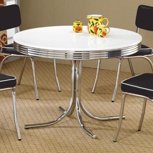 Retro kitchen dining table