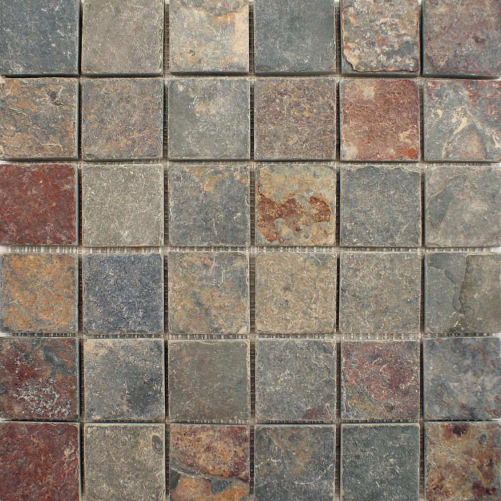 Slate tiles for outside walls