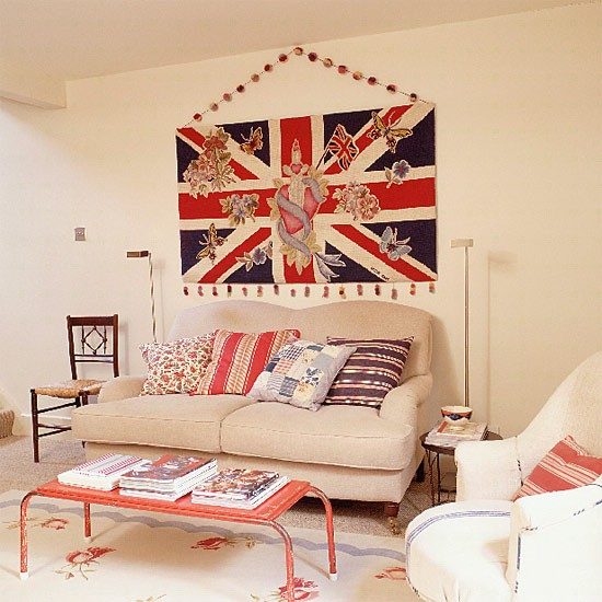 Union jack living room designs