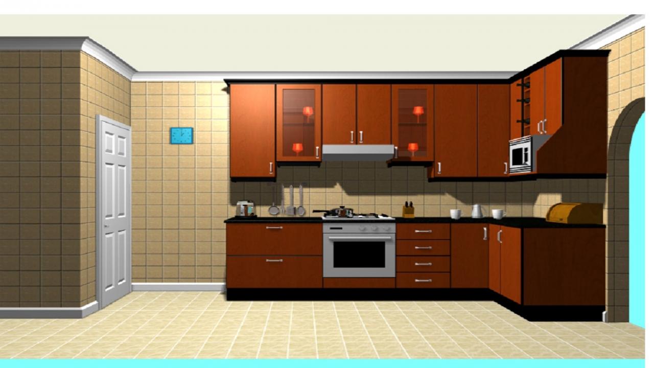 10 x 10 u shaped kitchen photo - 5