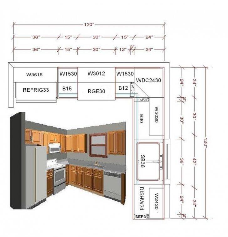10 x 10 u shaped kitchen photo - 9