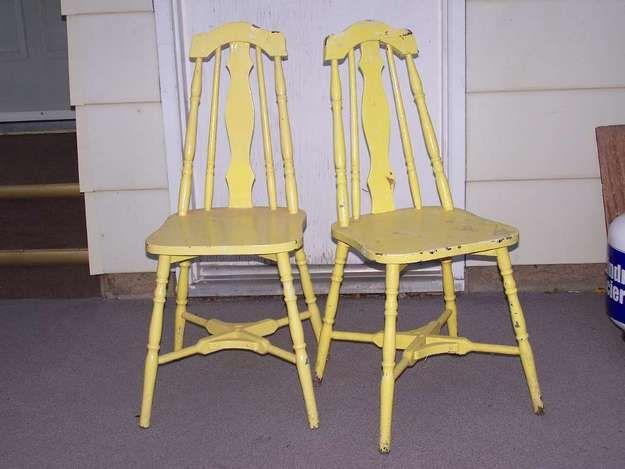 1930s kitchen chairs photo - 2