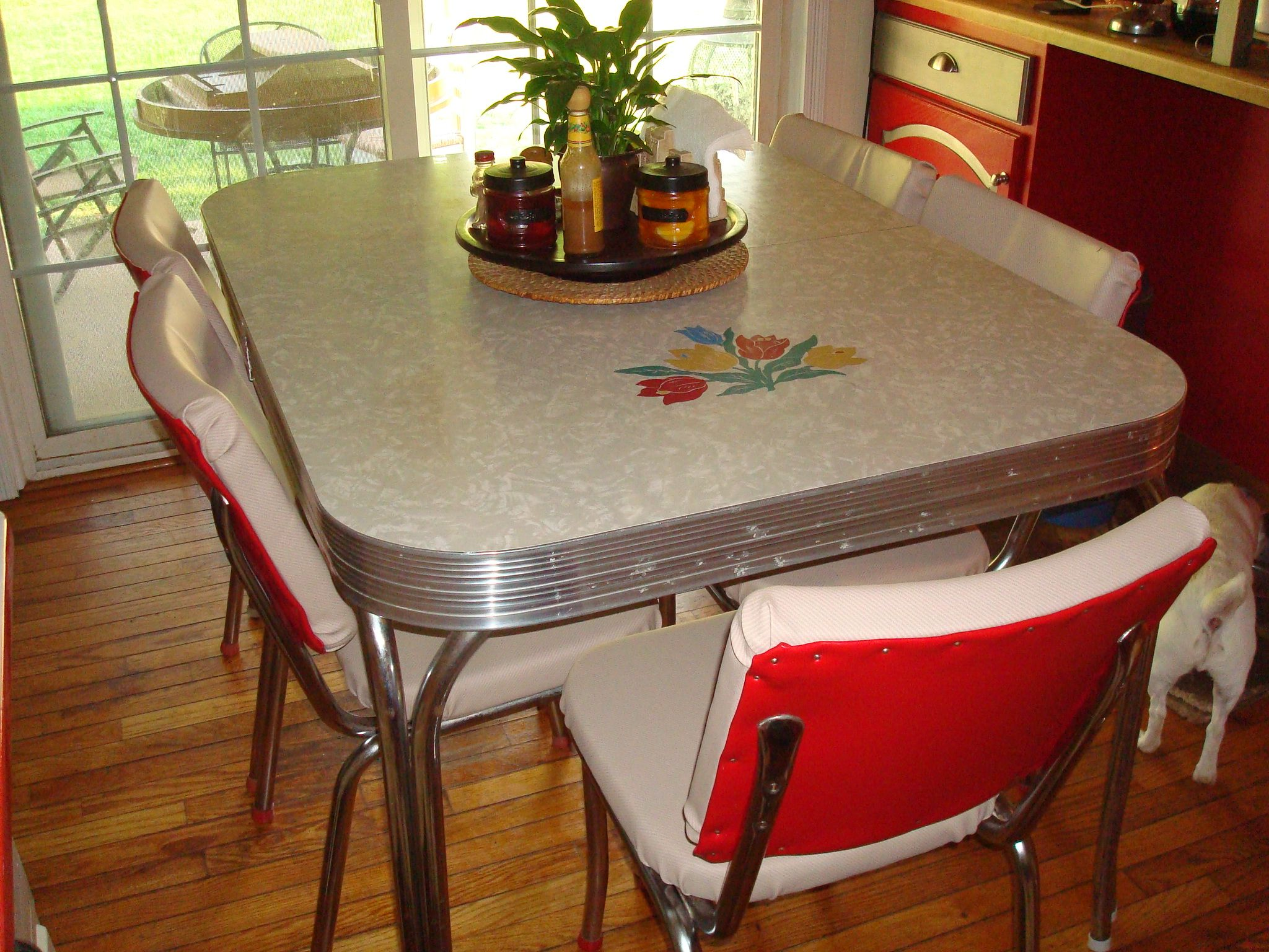 1950メs retro kitchen table chairs photo - 4