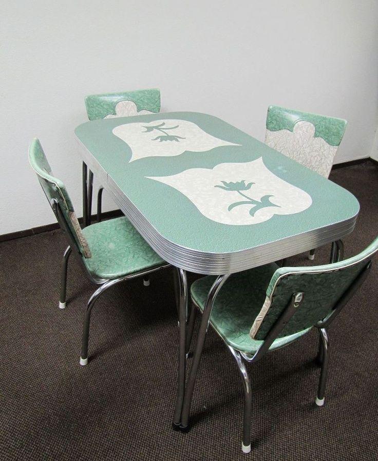 1950メs retro kitchen table chairs photo - 6