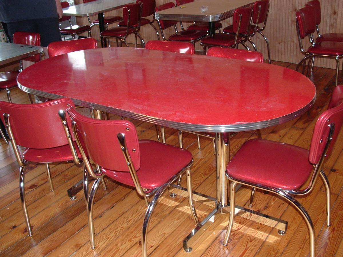 1950メs retro kitchen table chairs photo - 7