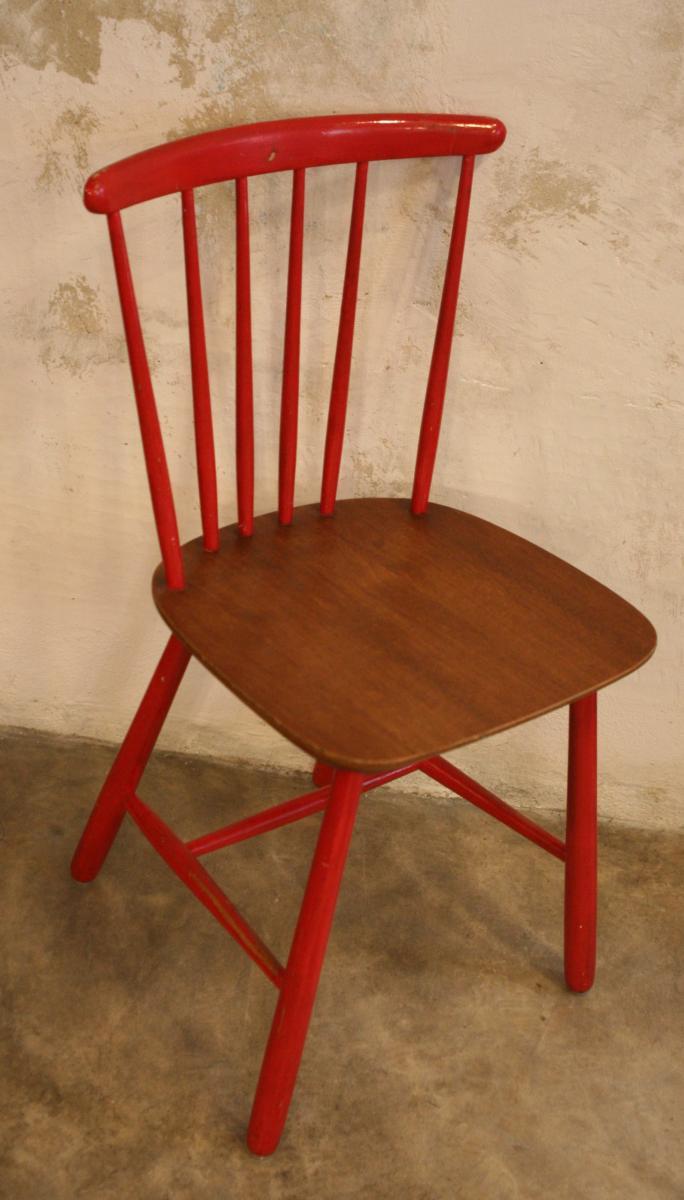 1960s kitchen chairs photo - 2