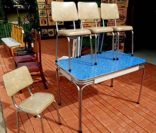 1960s kitchen chairs photo - 6