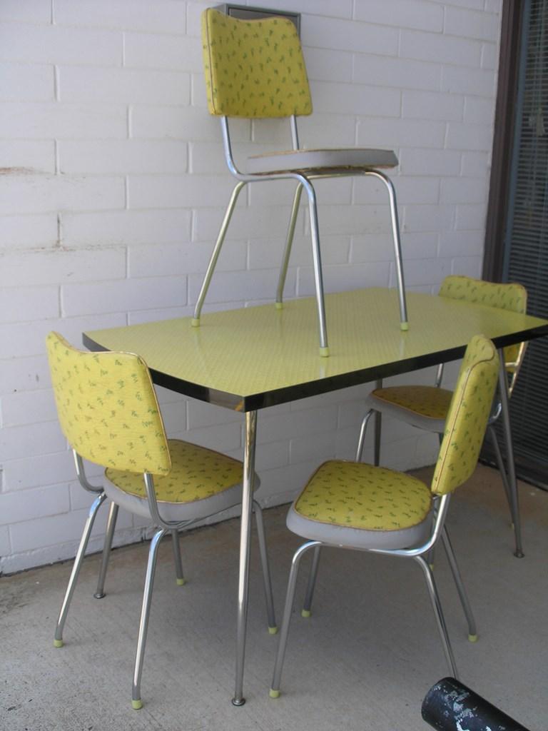 1960s kitchen chairs photo - 7