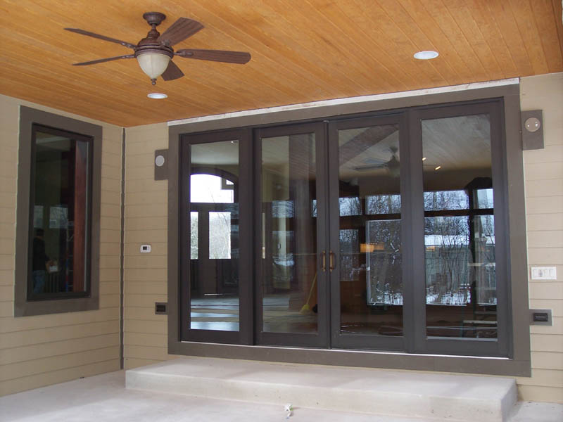 4 Foot French Doors Exterior Hawk Haven